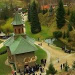 Manastirea Prislop - vedere de sus